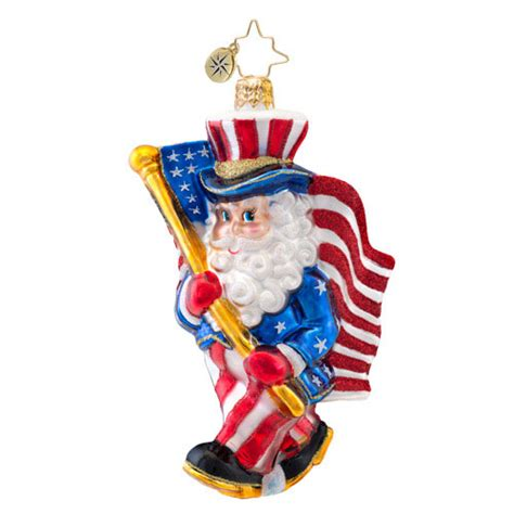 christopher radko ornaments 2014 radko patriotic flag