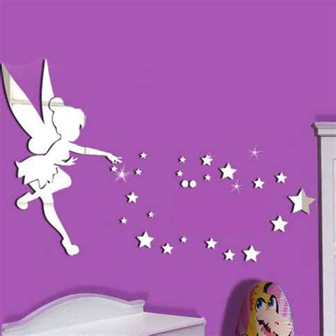 Disney Fairy Wall Stickers sticker miroir la petite f 233 e