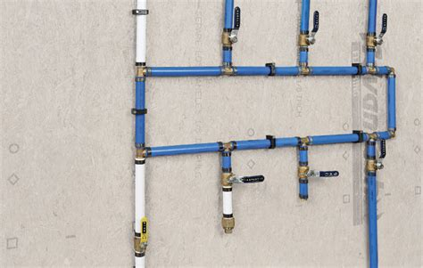 How To Install Pex Plumbing System by Build Your Own Pex Manifold Homebuilding
