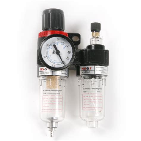 Promo Spesial Air Filter Regulator Kompresor Water Trap Kompresor air filter regulator moisture trap compressor water separator afc 2000 in pneumatic parts