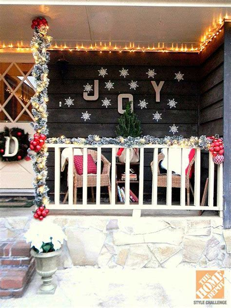 christmas patio decorating cool decorating ideas for front porch the xerxes