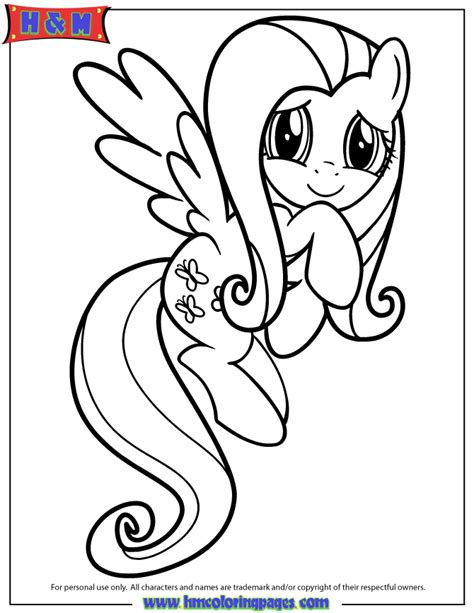 fluttershy coloring pages friendship is magic fluttershy coloring page h m