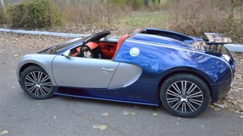 Top Size Cars by Supercar Bugatti Veyron Size