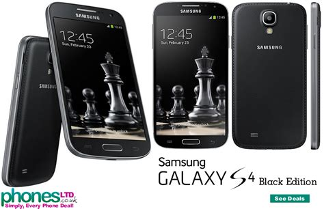 For Samsung S4 Black black edition samsung galaxy s4 phone images