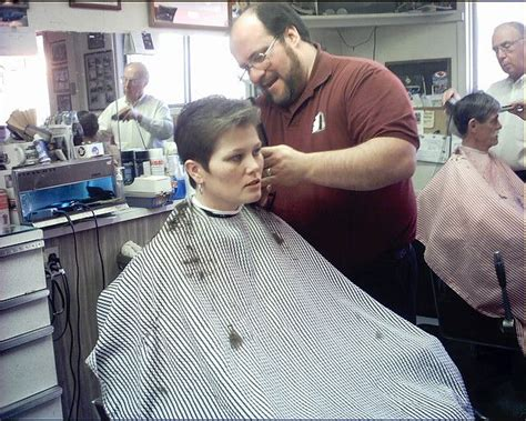 female in barber chair getting buzzcut 191 best hair on the cape images on pinterest