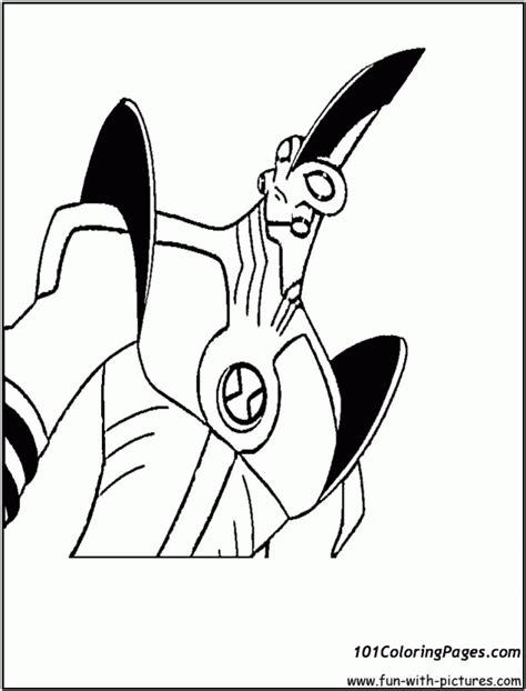 ben 10 coloring pages spider monkey ben ten spider monkey coloring home