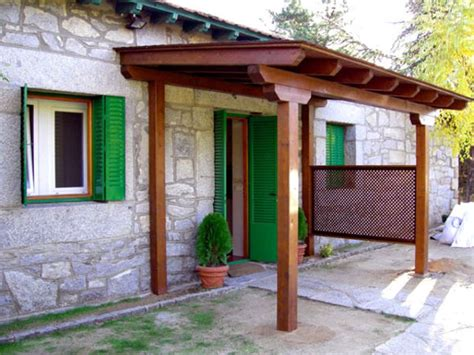 porches y p 233 rgolas daype - Cobertizos Ingles