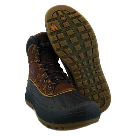 nike walking boots mens nike woodside ii new mens leather hiking boots acg walking