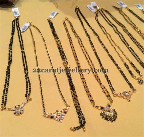 different bead designs pin carat nallapusalu black jewellery designs
