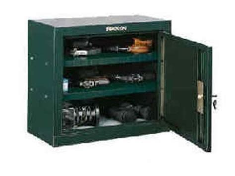stack on pistol ammo security cabinet green