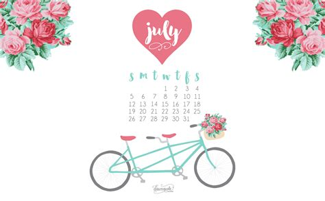 calendar design july image gallery july backgrounds computers