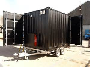shipping container conversion for catering