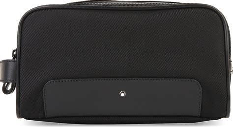 Bag Mont Blanc 809 13 montblanc nightflight toiletry bag in black for lyst