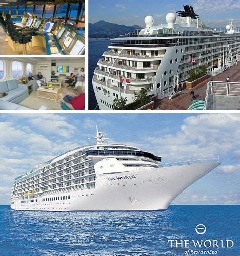 cruise ship the world the world cruise ship owned by the super rich