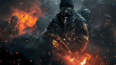 wallpaper games hd iphone tom clancys the division game hd wallpaper