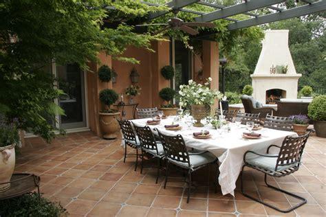 backyard dining elegant outdoor dining michael glassman associates