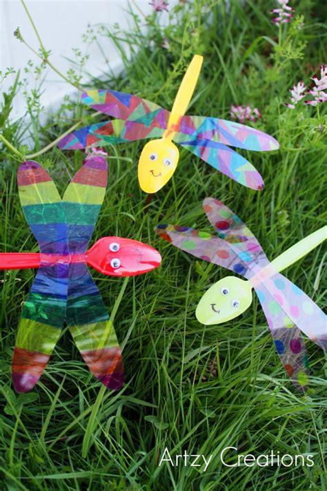 crafts for the garden garden dragonflies artzycreations