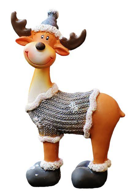 christmas moose santa hat  photo  pixabay