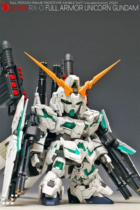 Fw Sd Gundam Neo 03 Rx 0 Unicorn Banshee Norn Destroy 23 best sd kitbash images on gundam model