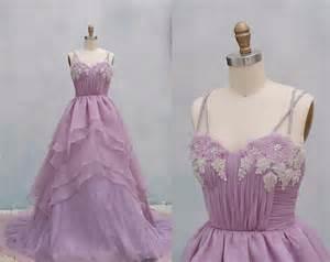 light purple gown light purple organza wedding dress gown dress by