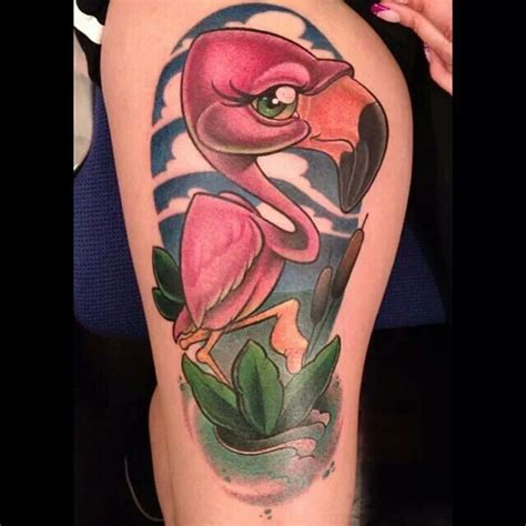 new school flamingo tattoo 17 best images about new school tattoo designs on