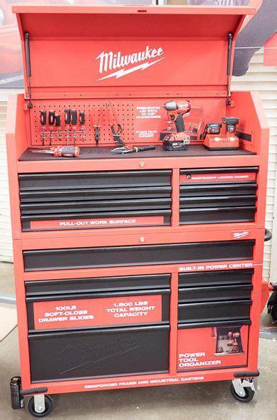 milwaukee    tool box small   functional