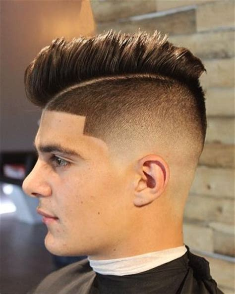 hairtyle faded on the sides mong mens short haircuts fade hairs picture gallery