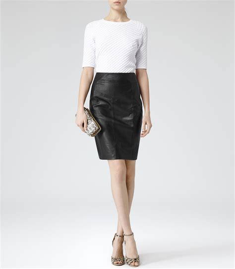 pencil skirts womens fitted skirts reiss