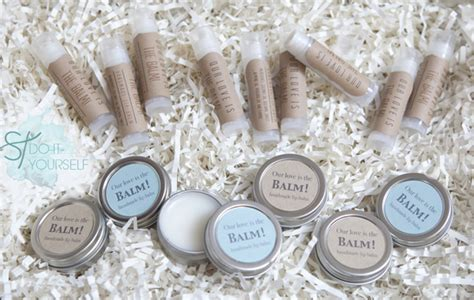 wedding favors lip balm learn how easy it is to make your own lip balm