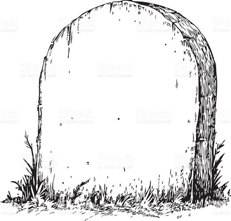 Tombstone Clipart Free blank tombstone stock vector 472277479 istock