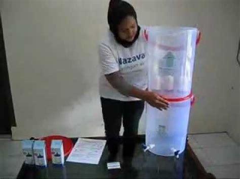 cara membuat filter air tanpa listrik cara membuat alat penjernih air sederhana funnycat tv
