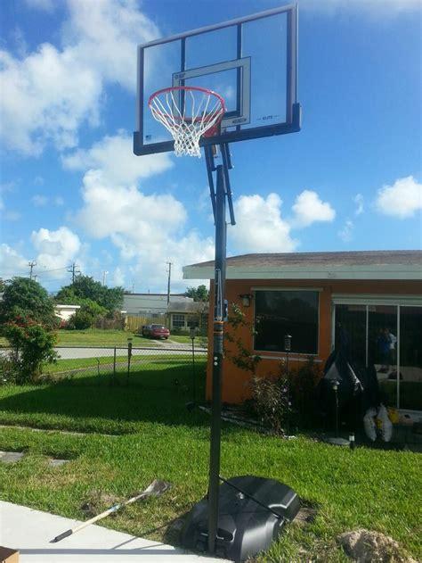 best backyard basketball hoop 166 best images about portable basketball goals on