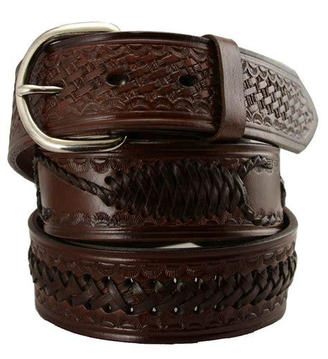 2285 western scorpion x woven genuine leather belt 1