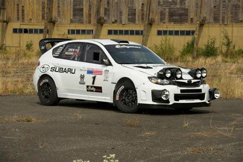 subaru sti rally car image subaru rally team usa wrx sti rally car in white