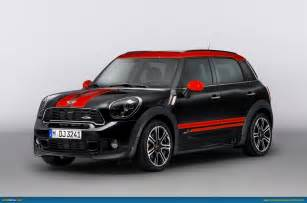 Mini Cooper Contryman Ausmotive 187 Mini Countryman Jcw Revealed
