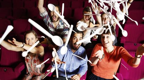 the room spoons cremorne orpheum attempts to beat its own record in most spoons thrown at screen during worst