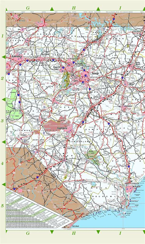 nc map carolina aa maps