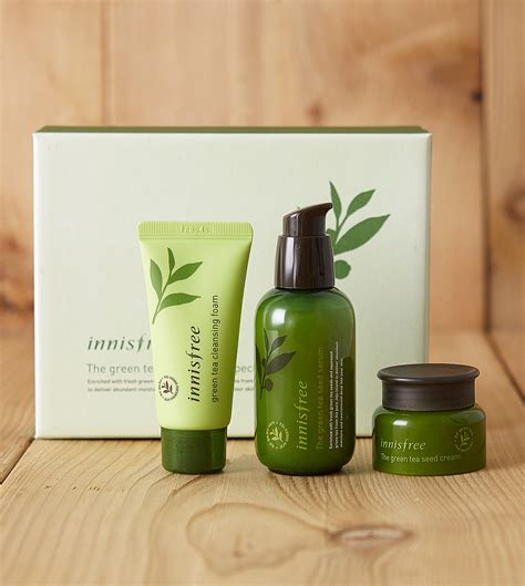Teh Green Tea skin care the green tea seed serum special innisfree