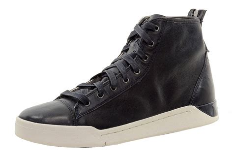 mens high top fashion sneakers diesel s fashion high top sneakers shoes ebay