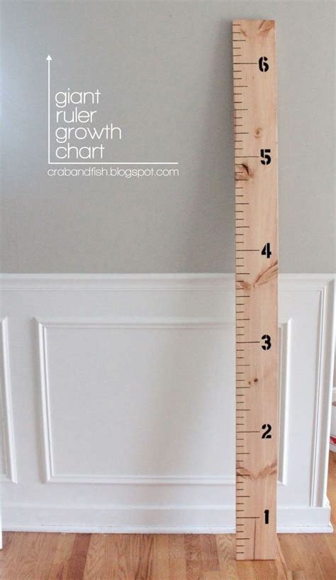 diy chalkboard growth chart ruler growth chart diy how to future house