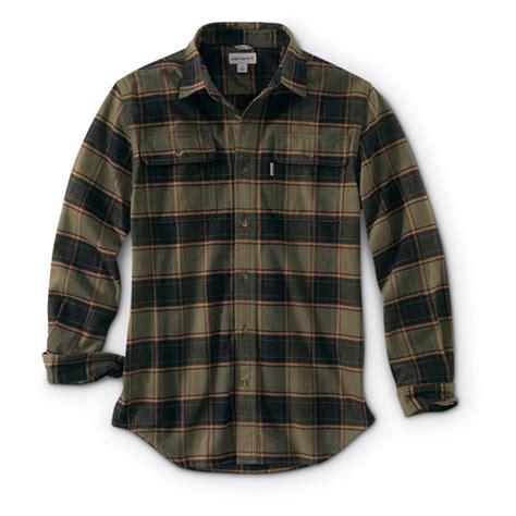 Plaid Shirt carhartt s hubbard plaid shirt 666547 shirts at