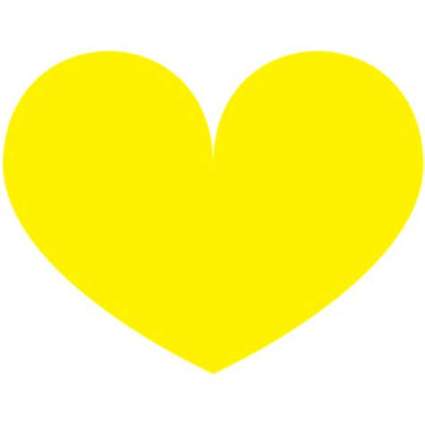 Home Decor Things Sale yellow heart clip art polyvore