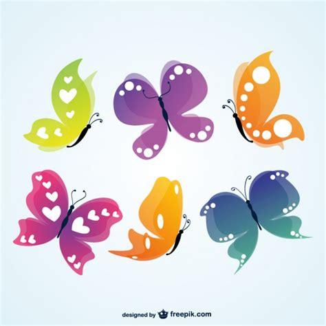 editar imagenes con vectores vector mariposas de colores descargar vectores gratis