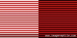 wallpaper garis hitam merah realita gambar ilusi optik yang menipu mata