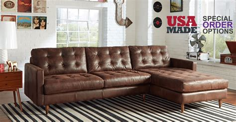 Usa Made Sofa by American Made Sectional Sofas 12 Ideas Of American Made