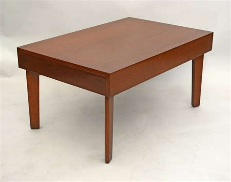 george nelson coffee table with pull out trays for sale at