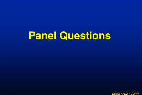 Mba Panel Questions by Ppt Fda Summary Powerpoint Presentation Id 584359