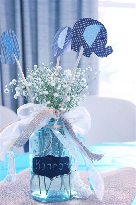 Centerpieces For Baby Shower by 23 Easy To Make Baby Shower Centerpieces Table