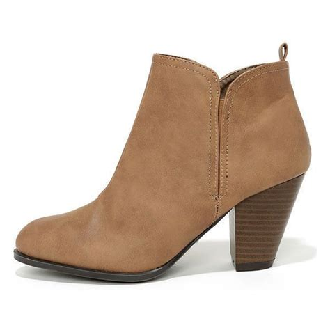 brown high heel booties high heel suede taupe ankle booties shoes boots