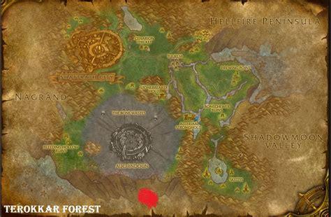 Razorthorn Shelf Map by Wow Spawns January 2012